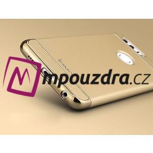 Luxusní odolný obal 3v1 na mobil Honor 8 - zlatý - 4