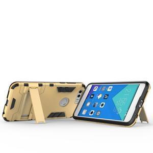 Outdoor odolný obal na mobil Honor 8 - zlatý - 4