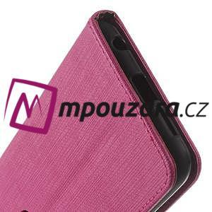 Clothy peněženkové pouzdro na mobil Honor 8 - rose - 4