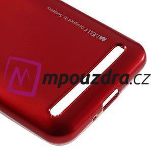 Luxusní gelový obal na mobil Huawei Y3 II - červený - 4