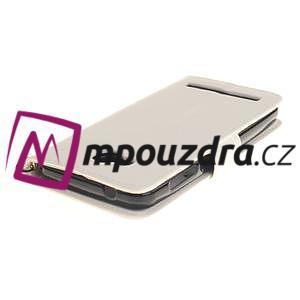 Dandelion PU kožené pouzdro na mobil Huawei Y3 II - bílé - 4