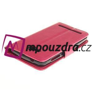 Dandelion PU kožené pouzdro na mobil Huawei Y3 II - rose - 4