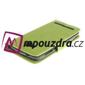 Dandelion PU kožené pouzdro na mobil Huawei Y3 II - zelené - 4