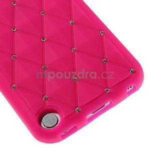 Brite silikonový obal s kamínky iPod Touch 6 / Touch 5 - rose - 4