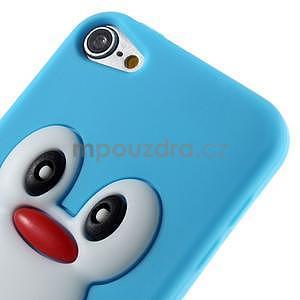Penguin silikonový obal na iPod Touch 6 / iPod Touch 5 - světle modrý - 4