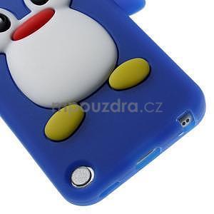 Penguin silikonový obal na iPod Touch 6 / iPod Touch 5 - tmavě modrý - 4