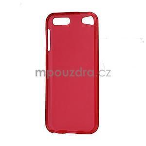 Matte gelový obal na iPod Touch 5 a iPod Touch 6 - červený - 4
