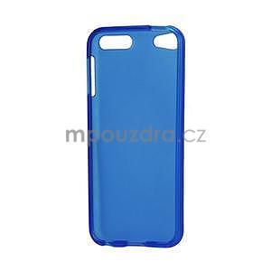 Matte gelový obal na iPod Touch 5 a iPod Touch 6 - tmavě modrý - 4