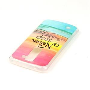 Jells gelový obal na LG K8 - nepřestávej snít - 4