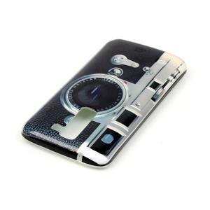 Emotive gelový obal na mobil LG K8 - retro foťák - 4