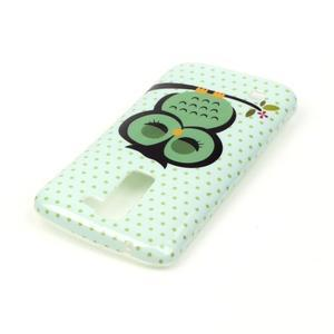 Emotive gelový obal na mobil LG K8 - sova - 4