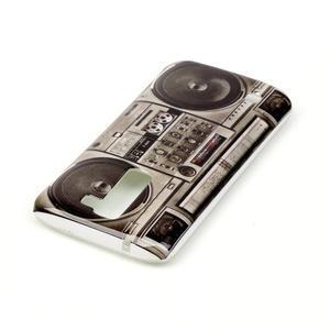 Emotive gelový obal na mobil LG K8 - retro magneťák - 4