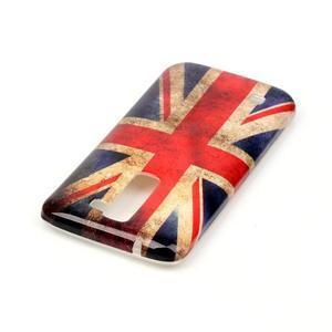 Emotive gelový obal na mobil LG K8 - UK vlajka - 4