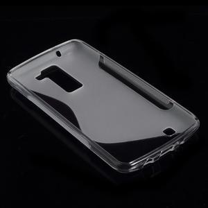 S-line gelový obal na LG K8 - transparentní - 4