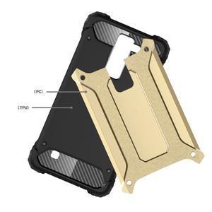 Armory odolný obal na mobil LG K8 - zlatý - 4