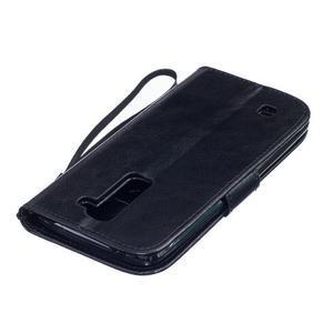 Dandelion PU kožené pouzdro na mobil LG K8 - černé - 4