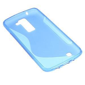 S-line gelový obal na LG K8 - modrý - 4