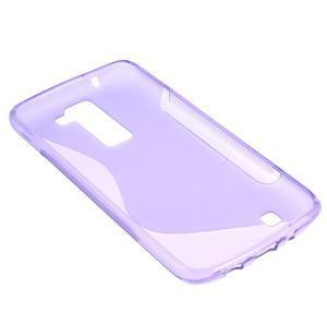S-line gelový obal na LG K8 - fialový - 4