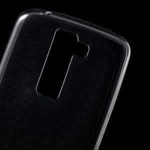 Ultratenký gelový obal na mobil LG K8 - transparentní - 4