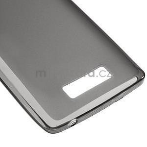 Matný gelový kryt na Lenovo A2010 - šedý - 4