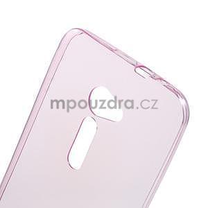 Ultra tenký slim gelový obal na Asus Zenfone 2 ZE500CL - rose - 4