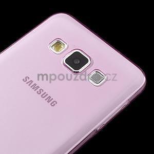 Slim obal na Samsung Galaxy A3 - růžové - 4