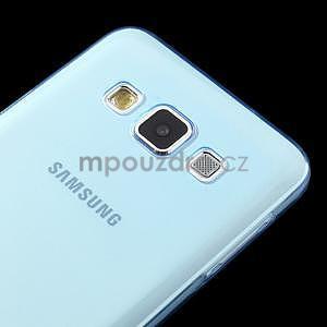 Slim obal na Samsung Galaxy A3 - světlemodré - 4
