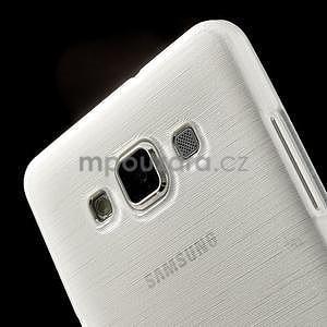 Broušený gelový obal Samsung Galaxy A5 - bílý - 4