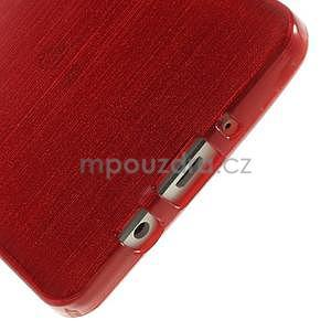 Broušený gelový obal Samsung Galaxy A5 - červený - 4
