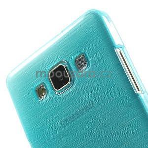 Broušený gelový obal Samsung Galaxy A5 - tyrkysový - 4