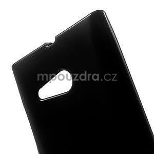 Gelový obal na Nokia Lumia 730 a Lumia 735 - černý - 4