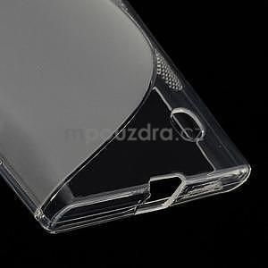 Gelový s-line obal na Nokia Lumia 730 a Lumia 735 - transparentní - 4
