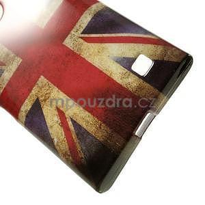 Gelové pouzdro na Nokia Lumia 730 a Lumia 735 - UK vlajka - 4