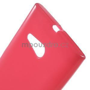 Gelový obal na Nokia Lumia 730 a Lumia 735 - rose - 4