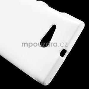 Gelový obal na Nokia Lumia 730 a Lumia 735 - bílý - 4