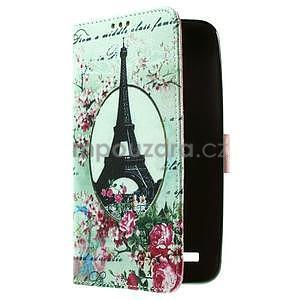 Zapínací peněženkové pouzdro na Asus Zenfone 2 ZE551ML - Eiffelova věž - 4