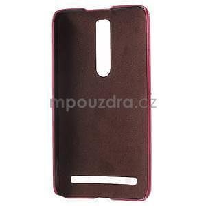 Rose PU kožený/plastový kryt na Asus Zenfone 2 ZE551ML - 4