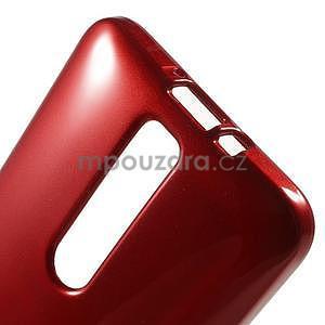 Gelový obal na Asus Zenfone 2 ZE551ML -  tmavě červený - 4