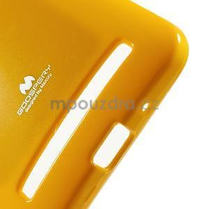 Gelový obal na Asus Zenfone 2 ZE551ML - žlutý - 4