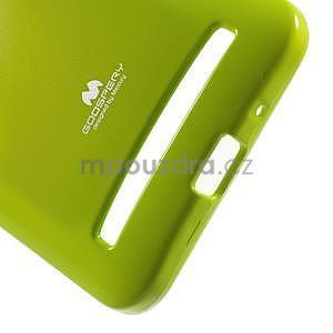 Gelový obal na Asus Zenfone 2 ZE551ML - zelený - 4