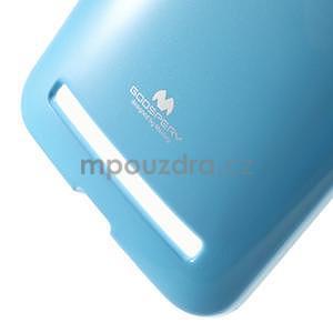 Gelový obal na Asus Zenfone 2 ZE551ML - světle modrý - 4