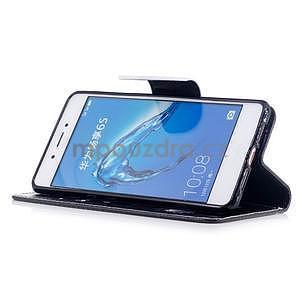 Emotive peněženkové pouzdro na mobil Huawei Nova Smart - nešahat - 4