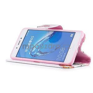 Emotive peněženkové pouzdro na mobil Huawei Nova Smart - motýlci - 4