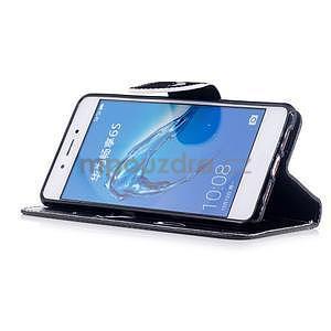 Emotive peněženkové pouzdro na mobil Huawei Nova Smart - nedotýkat se - 4