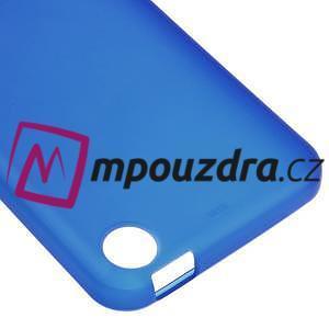 Matný gelový obal na mobil HTC Desire 530 a Desire 630 - modrý - 4