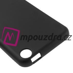 Matný gelový obal na mobil HTC Desire 530 a Desire 630 - černý - 4