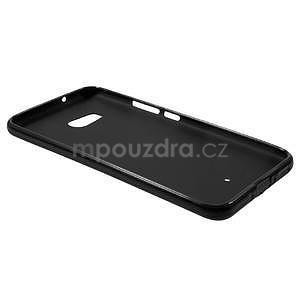 Matný gélový obal na mobil HTC U11 - čierny - 4