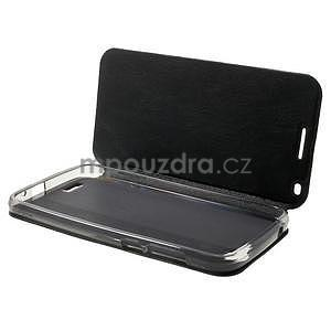 Klopové pouzdro na Huawei Ascend G7 - černé - 4