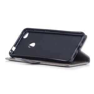 Unicorn PU kožené pouzdro na Huawei P8 Lite - šedé - 4