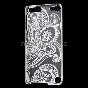 Plastový obal pro iPod Touch 5 - květ - 4